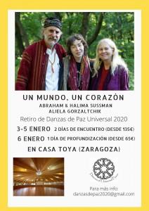 DANZA DE PAZ UNIVERSAL: Del 3 al 6 de Enero de 2020.